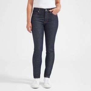 Mid rise skinny jean (regular) DARK INDIGO